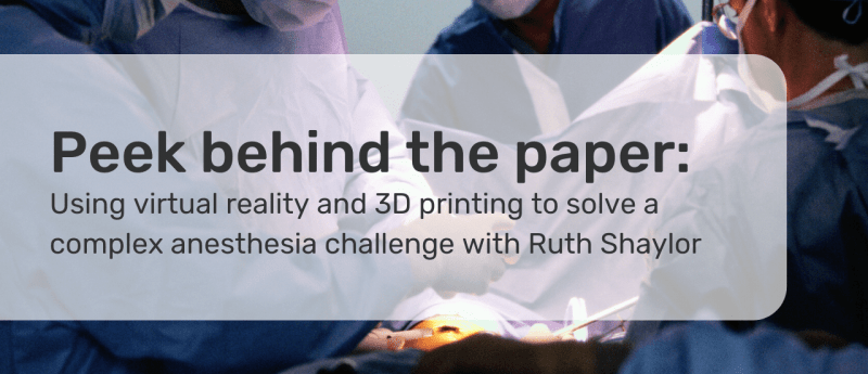 virtual reality and 3D printing in surgery
